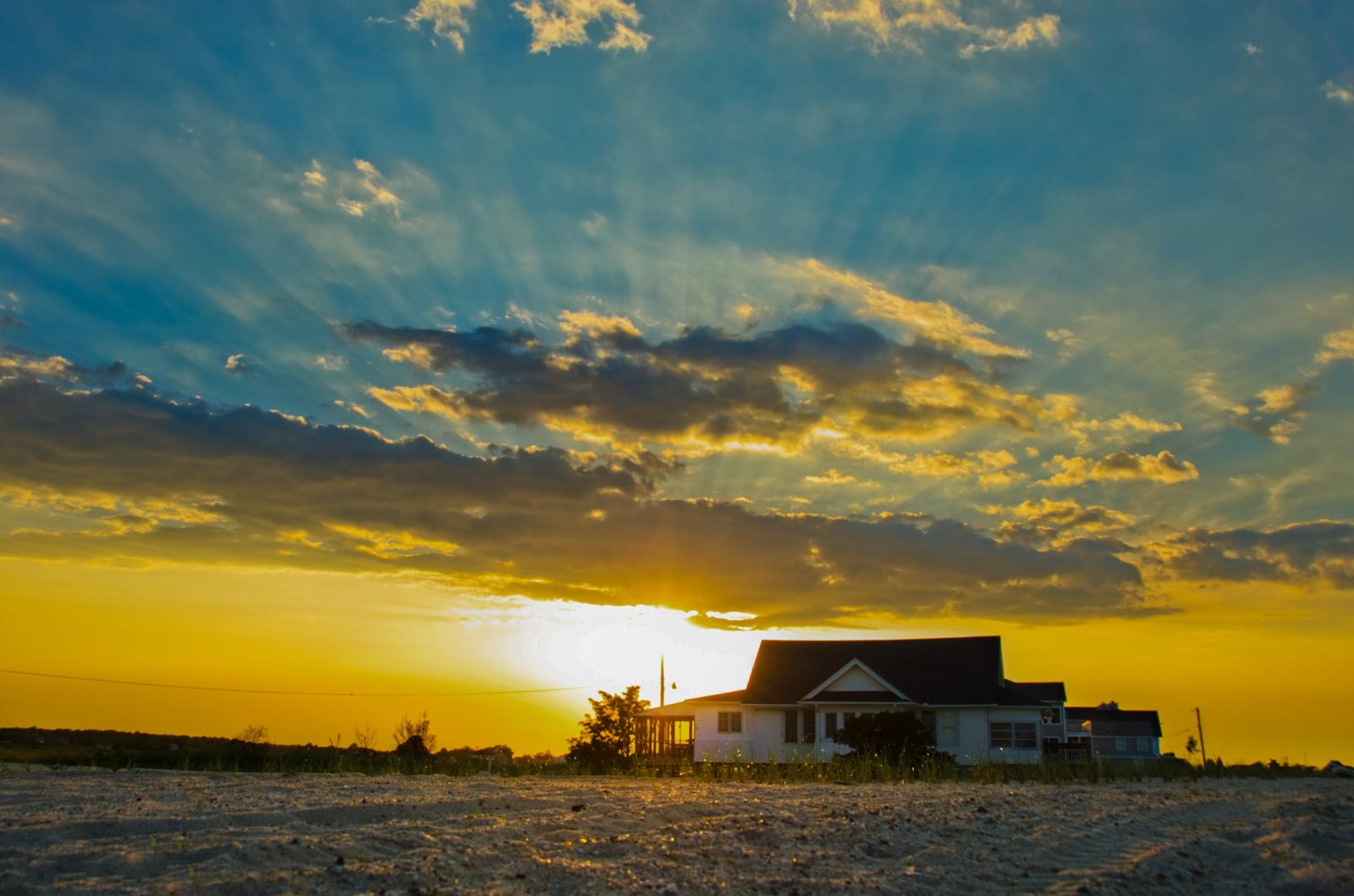 Sunset at Bowers Beach